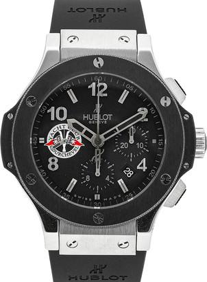 Hublot Black Stainless Steel Big Bang Courchevel Yacht Club Limited Edition 301.SM.100.RX. CVL07 Men's Wristwatch 44 MM