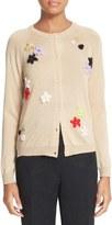 Simone Rocha Women's Embroidered Merino Wool & Silk Cardigan