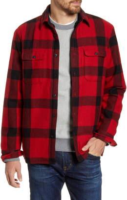1901 Buffalo Check Faux Fur Lined Shirt Jacket