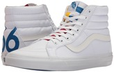 Vans SK8-Hi Reissue True White/Blue/Red) Skate Shoes
