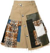 Sonia Rykiel patchwork skirt