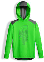 The North Face Long-Sleeve Reactor Hoodie, Lime, Boys' Size XXS-XL