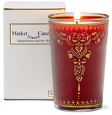 Rose Moroccan Henna Candle (10 OZ)