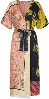Stine Goya Mia Dress in Maps