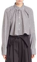 Tome Striped Cotton Long Sleeve Shirt