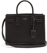 Saint Laurent Sac De Jour baby grained-leather tote