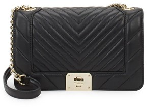Karl Lagerfeld Paris Lara Quilted Leather Shoulder Bag