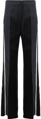 Fendi Side Stripe Flared Trousers