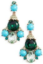 Oscar de la Renta Women's Crystal Chandelier Earrings