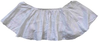 Zara White Linen Knitwear for Women