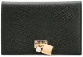 Dolce & Gabbana padlock wallet - women - Leather - One Size