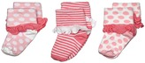 Jefferies Socks Turn Cuff 3 Pack Girls Shoes