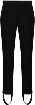 Wardrobe NYC Stirrup-Cuff Tailored Trousers