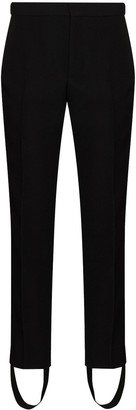 Wardrobe NYC x Browns 50 stirrup-cuff tailored trousers