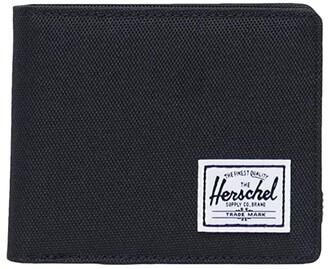 Herschel Roy Coin RFID (Black) Wallet Handbags