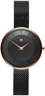 MVMT Mod RB3 Stainless Steel Mesh Bracelet Watch