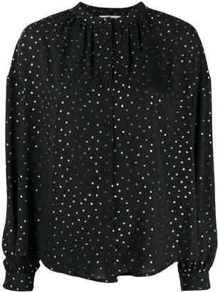 Essentiel Antwerp Voulez Vous dotted blouse