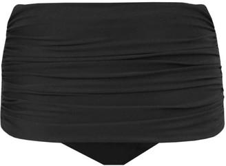 Miraclesuit Swim Norma Shirred Hi-Rise Bikini Bottom
