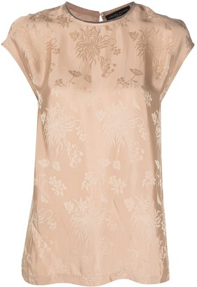 Fabiana Filippi floral-print T-shirt