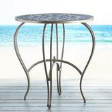 Pier 1 Imports Shira Blue Medallion Glass Bistro Table