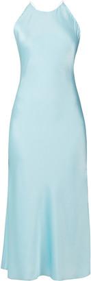 Rosetta Getty Satin Midi Dress