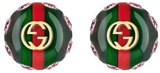 Gucci Vintage Web earrings