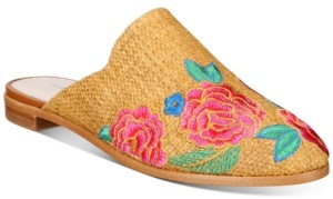 Kenneth Cole New York Women's Roxanne Embroidery Mules Women's Shoes