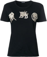 Alexander McQueen embroidered embellished T-shirt