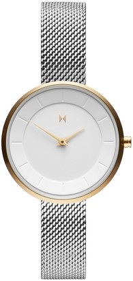 MVMT Womens Analogue Quartz Watch with Stainless Steel Strap D-FB01-SG