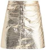 Missguided Mini skirt gold