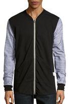 Kinetix Cotton-Blend Baseball Jacket