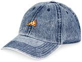 American Rag Men's Firecracker Embroidered Denim Cap, Only at Macy's