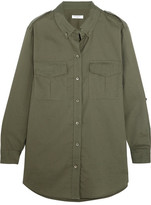 Equipment Major Cotton Shirt - Army green