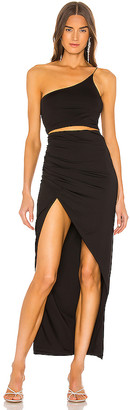 superdown x Draya Michele Lydia Maxi Skirt Set