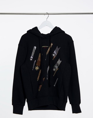 Miss Sixty Jaydin hoodie in black