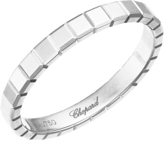Chopard White Gold Ice Cube Pure Ring