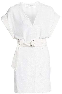 IRO Women's Alistair Sequin Mini Dress