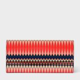 Paul Smith No.9 - Women's Multi-Coloured Patent Leather Tri-Fold Purse