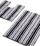 Marks and Spencer Quick Dry Striped Bath & Pedestal Mats