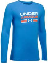 Under Armour Boys 8-20 Crossbar Tee