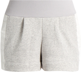 adidas by Stella McCartney Pleated-front performance shorts