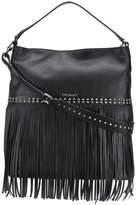 Twin-Set fringed hobo bag
