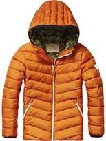 Scotch Shrunk Boy's Basic Padded Nylon Hood Jacket,104 (Herstellergröße: 4)
