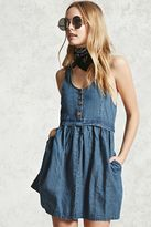 Forever 21 Clean Wash Denim Dress
