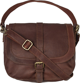 Fat Face Suzie Oiled Across Body Bag, Brown