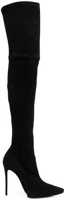Casadei Thigh-High Stiletto Boots