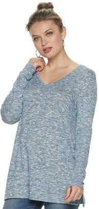 Apt. 9 Women's Essential Long Sleeve Tunic Tee
