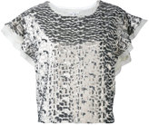 IRO 'Deven' sequined top - women - Polyester - 38