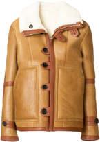 Joseph shearling lined coat