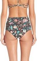 L-Space Women's L Space Reversible Liberty Floracopa Print Bikini Bottoms